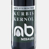 NEBAUERs Styrian pumpkin seed oil P.G.J. 100 ml