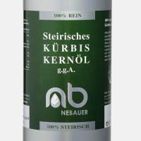 NEBAUERs Styrian pumpkin seed oil P.G.J. 5 liter can
