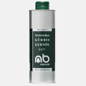 NEBAUERs steirisches Kürbiskernöl g.g.A. - 500...
