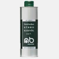 NEBAUERs Styrian pumpkin seed oil P.G.J. 500 ml can
