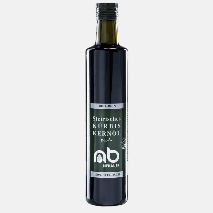 NEBAUERs Styrian pumpkin seed oil P.G.J. 500 ml