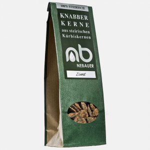 NEBAUERs Styrian pumpkin seeds - cinnamon