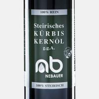 NEBAUERs Styrian pumpkin seed oil P.G.J. 750 ml