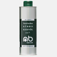 NEBAUERs Styrian pumpkin seed oil P.G.J. 250 ml can