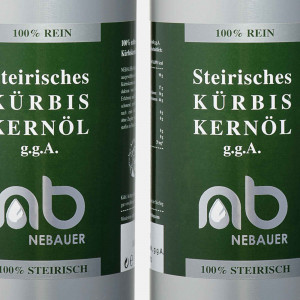 SIX PACK - NEBAUERs Styrian Pumpkin seed oil P.G.J. 1...
