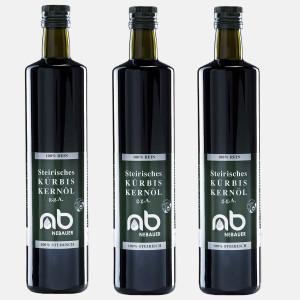 3er Pack - NEBAUERs steirisches Kürbiskernöl...